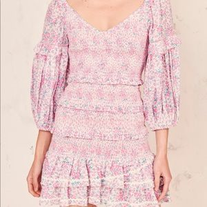 Loveshackfancy ensley mini dress NWT M